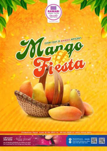 Qatar - Doha Rawabi Hypermarkets offers in D4D Online. Mango Fiesta. Mango Fiesta Offers  Are Available At Rawabi Hypermarkets. Offers Are Valid  Till  05th April.   Enjoy!  . Till 05th April