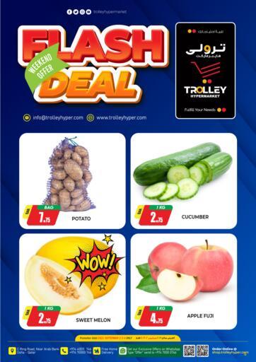 Qatar - Al Rayyan Trolley Hypermarket offers in D4D Online. Flash Deal. . Till 4th September