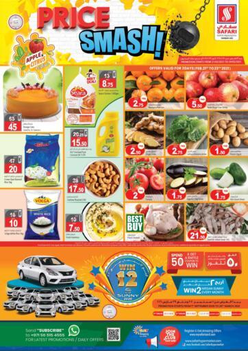 UAE - Dubai Safari Hypermarket  offers in D4D Online. Price Smash. . Till 24th February