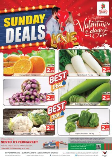 UAE - Umm al Quwain Nesto Hypermarket offers in D4D Online. Umm Al Quwain. . Only On 14th February