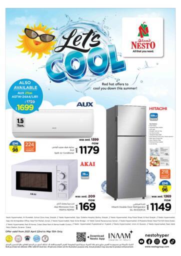 UAE - Umm al Quwain Nesto Hypermarket offers in D4D Online. Let's Cool. . Till 15th May