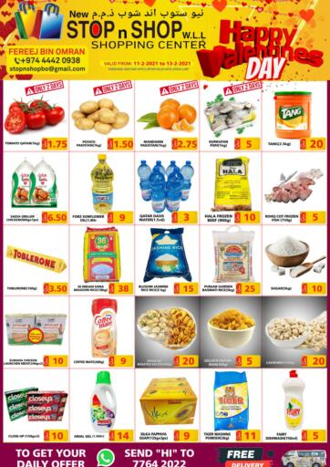 Qatar - Al Wakra New Stop n Shop @Fereej Bin Omran offers in D4D Online. Special Offer. Special Offer Are Available At New Stop n Shop @Fereej Bin Omran.  Offers Are Valid Till 13th February. Enjoy Shopping!!. Till 13th February