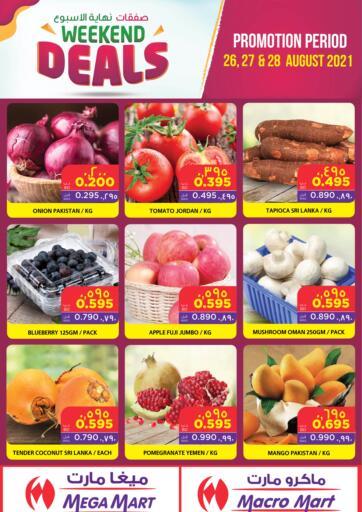 Bahrain MegaMart & Macro Mart  offers in D4D Online. Weekend Deals. . Till 28th August