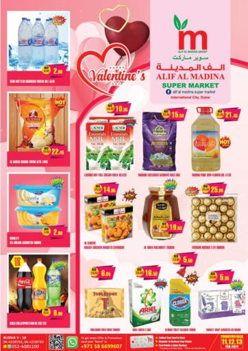 UAE - Dubai Alif Al Madina Supermarket offers in D4D Online. Valentine's Day Offers. . Till 13th February