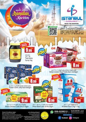 UAE - Dubai Istanbul Supermarket offers in D4D Online. Ramadan Kareem. . Till 14th April