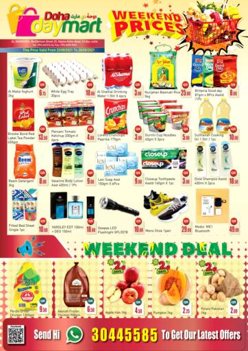 Qatar - Doha Doha Daymart offers in D4D Online. Weekend Prices. . Till 25th September