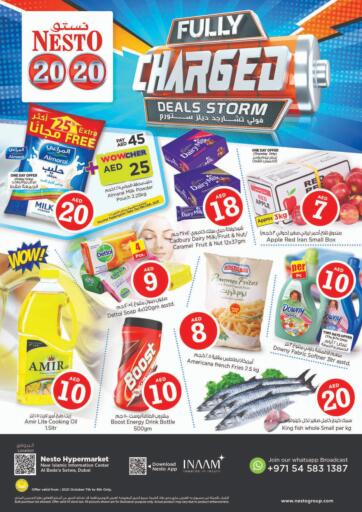 UAE - Sharjah / Ajman Nesto Hypermarket offers in D4D Online. Al Bada'a, Satwa ,Dubai. . Till 9th October