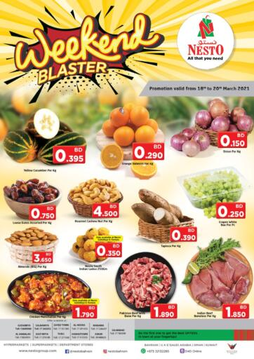 Bahrain NESTO  offers in D4D Online. Weekend Blasters. . Till 20th March