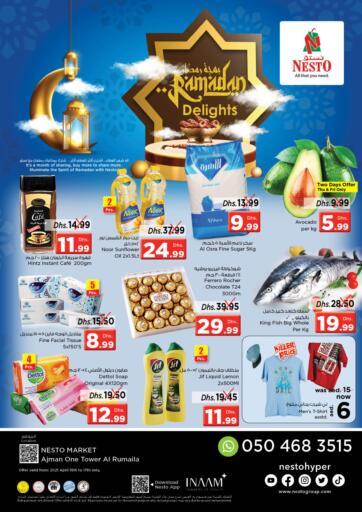 UAE - Sharjah / Ajman Nesto Hypermarket offers in D4D Online. Al Ruamila, Sharjah. . Till 17th April