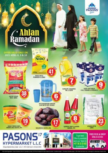 UAE - Dubai Pasons Supermarkets & Hypermarkets offers in D4D Online. Al Qouz - Ahlan Ramadan. . Till 10th April
