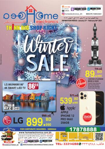 Bahrain Home Electronics offers in D4D Online. Winter Sale. . Till 6th February