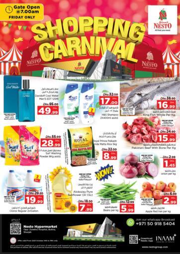 UAE - Fujairah Nesto Hypermarket offers in D4D Online. Butina, Sharjah. . Till 16th October