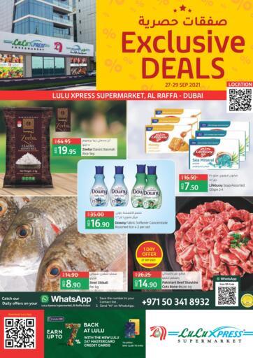 UAE - Ras al Khaimah Lulu Hypermarket offers in D4D Online. Exclusive Deals @ Al Raffa. . Till 29th September
