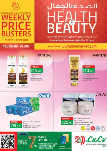 UAE - Fujairah Lulu Hypermarket offers in D4D Online. Health & Beauty. . Till 02nd October