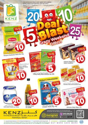 UAE - Sharjah / Ajman Kenz Hypermarket offers in D4D Online. Deal Blast. . Till 16th October