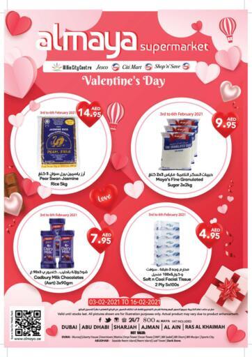 UAE - Dubai Al Maya Supermarkets & Hypermarkets offers in D4D Online. Valentine's Day Offers. . Till 16th February