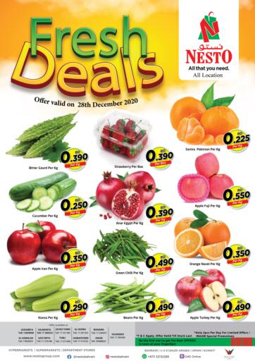 Bahrain NESTO  offers in D4D Online. Fresh Deals. . Only On 28th December