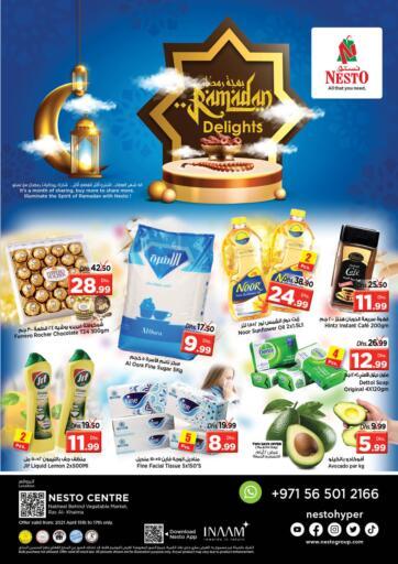 UAE - Ras al Khaimah Nesto Hypermarket offers in D4D Online. Nakheel, Ras Al Khaimah. . Till 17th April