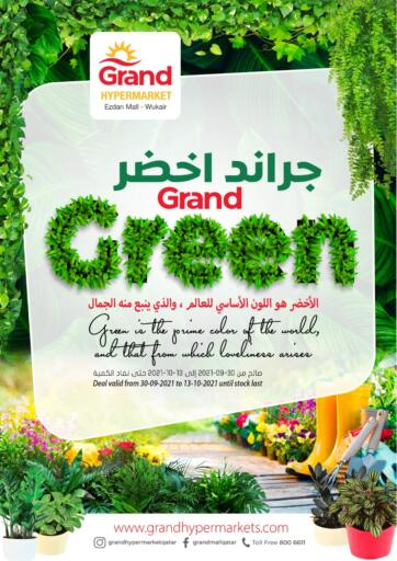 Qatar - Al-Shahaniya Grand Hypermarket offers in D4D Online. Grand Green. . Till 13th October