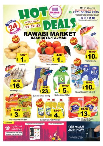 UAE - Sharjah / Ajman Rawabi Market Ajman offers in D4D Online. Hot Deals. . Till 23rd January