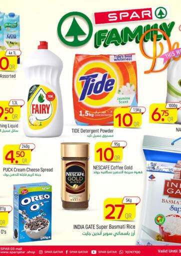 Qatar - Al Khor SPAR offers in D4D Online. SPAR FAMILY DEALS!. SPAR FAMILY DEALS! Offers Are Available At SPAR. Get Your Favourite Products at Exclusive Prices. Offers  Are Valid Till 4th August.  .. Grab It Now Enjoy Shopping!!!. Till 4th August