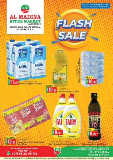 UAE - Fujairah Al Madina Supermarket LLC offers in D4D Online. Bidya Police Station, Fujairah. . Till 16th October