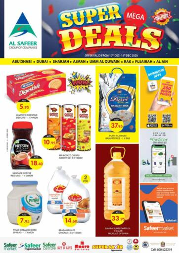 UAE - Ras al Khaimah Safeer Hyper Markets offers in D4D Online. Super Mega Deals.