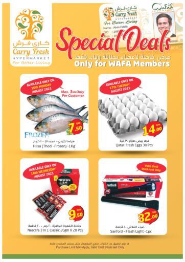 Qatar - Al-Shahaniya Carry Fresh Hypermarket offers in D4D Online. Special Deals. . Until Stock Last