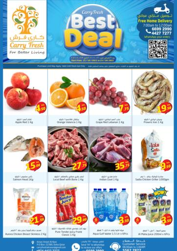 Qatar - Al Rayyan Carry Fresh Hypermarket offers in D4D Online. Best Deal @ Al Nasr. . Till 23rd October