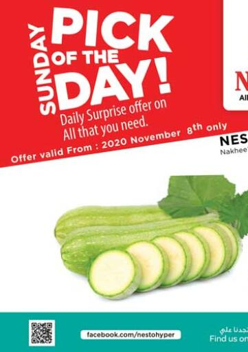 UAE - Ras al Khaimah Nesto Hypermarket offers in D4D Online. Pick Of The Day. . Only On 8th November