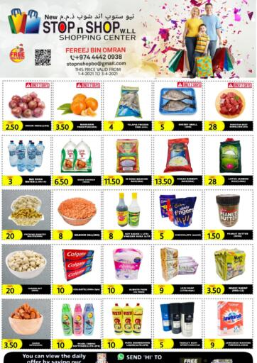 Qatar - Al Wakra New Stop n Shop @Fereej Bin Omran offers in D4D Online. Weekend Offers. Weekend Offers Are Available At New Stop n Shop @Fereej Bin Omran. Offers Are Valid Till 3rd April.  Enjoy Shopping!. Till 3rd April