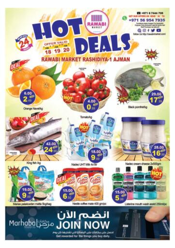 UAE - Sharjah / Ajman Rawabi Market Ajman offers in D4D Online. Hot Deals. . Till 20th February