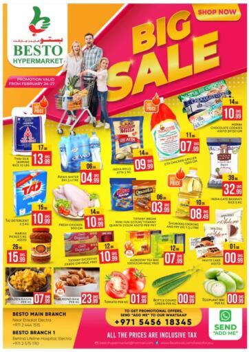 UAE - Abu Dhabi Besto Hypermarket offers in D4D Online. Big Sale. . Till 27th February