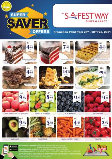 UAE - Dubai West Zone Supermarket offers in D4D Online. Safest Way - Super Saver. . Till 28th February