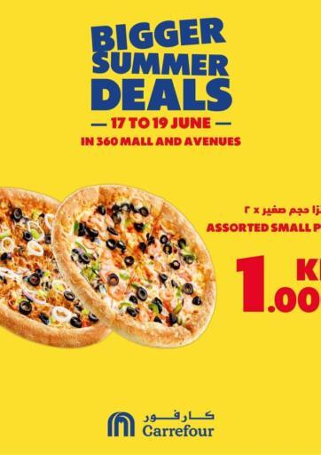 Kuwait Carrefour offers in D4D Online. Bigger Summer Deals. . Till 19th June