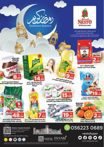 UAE - Sharjah / Ajman Nesto Hypermarket offers in D4D Online. Al Nabba St, Sharjah. . Till 21st April