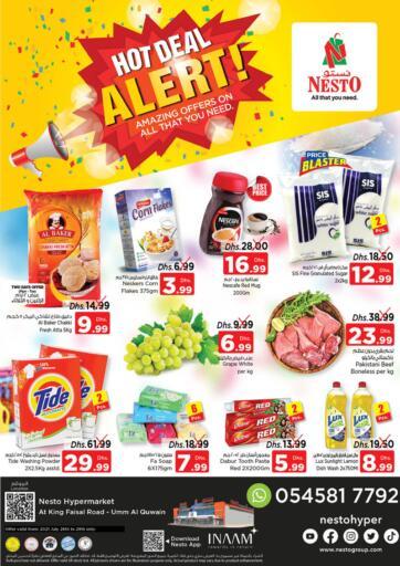 UAE - Dubai Nesto Hypermarket offers in D4D Online. Umm Al Quwain. . Till 28th July