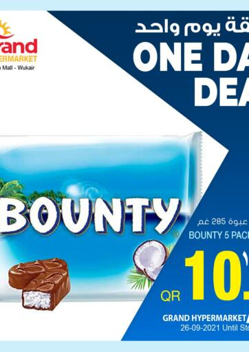Qatar - Al-Shahaniya Grand Hypermarket offers in D4D Online. One Day Deal. . Only On 26th September