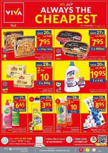 UAE - Dubai Viva Supermarket offers in D4D Online. Always The Cheapest. . Till 19th January