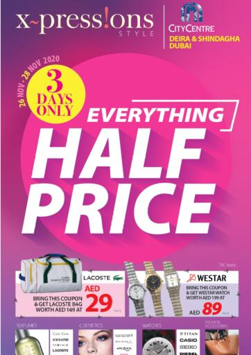 UAE - Ras al Khaimah Safeer Hyper Markets offers in D4D Online. Everything Half Price.