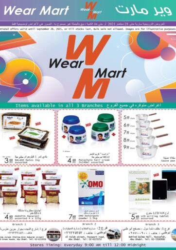 UAE - Abu Dhabi Wear Mart offers in D4D Online. Monthly Offers. . Till 28th September