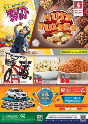 UAE - Sharjah / Ajman Safari Hypermarket  offers in D4D Online. Nuts And Pulses. . Till 2nd March