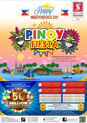 Qatar - Al-Shahaniya Safari Hypermarket offers in D4D Online. Pinoy Fiesta. . Till 17th June