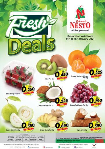 Bahrain NESTO  offers in D4D Online. Fresh Deals. . Till 16th January