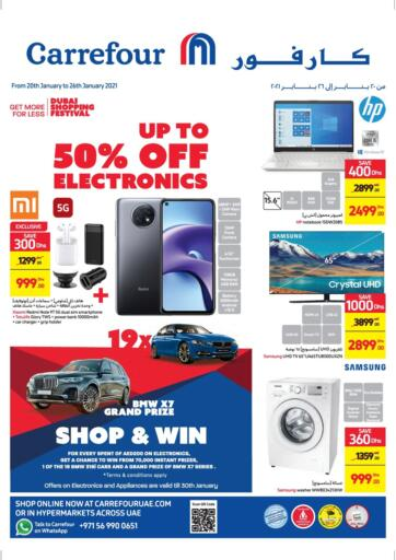 UAE - Sharjah / Ajman Carrefour UAE offers in D4D Online. Up To 50% Off on Electronics. Up To 50% Off on Electronics At Carrefour UAE. Get Best Offers On  Electronic Items, Appliances, Gadgets, Toys, Fitness items, Home Needs, Groceries &  Many More At Their Store. Everything At A Single Place Offer Valid Till 26th January 2021. Enjoy Shopping !!. Till 26th January