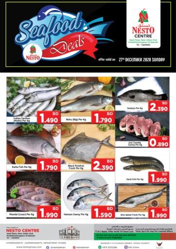Bahrain NESTO  offers in D4D Online. Seafood Deals. . Only on 27th December