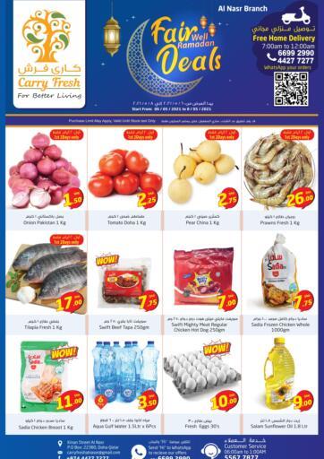 Qatar - Al-Shahaniya Carry Fresh Hypermarket offers in D4D Online. Fairwell Ramadan Deals. Now get this Fairwell Ramadan Deals Offers on all products from Carry Fresh Hypermarket. hurry now. offer valid Till  8th May. Enjoy Shopping!!!. Till 8th May
