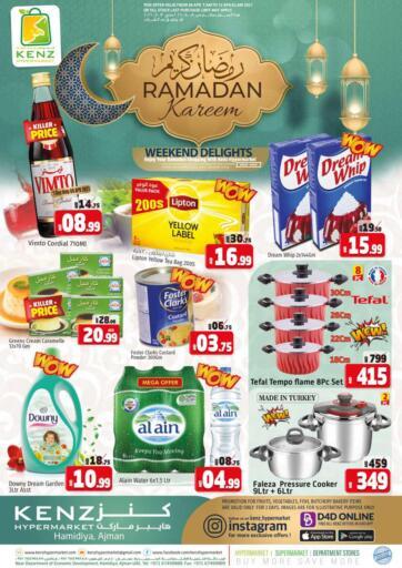UAE - Sharjah / Ajman Kenz Hypermarket offers in D4D Online. Ramadan Kareem. Ramadan Kareem Offer Now Available At Kenz Hypermarket.Rush Now And Get Everything At Best Price. Offer Valid Till 12th April 2021.  Enjoy Shopping!!!. Till 12th April