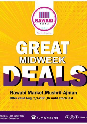 UAE - Sharjah / Ajman Rawabi Market Ajman offers in D4D Online. Great Midweek Deals @ Mushrif, Ajman. . Till 3rd August