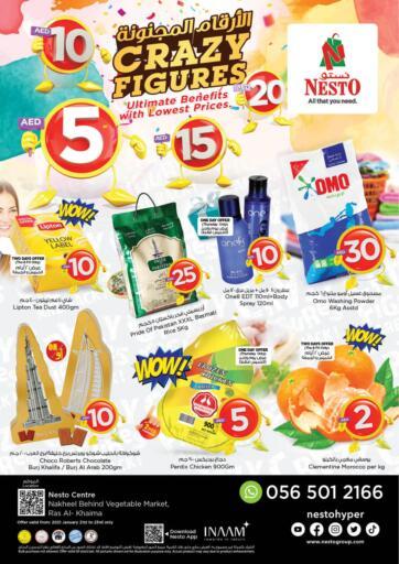 UAE - Ras al Khaimah Nesto Hypermarket offers in D4D Online. Ras Al Khaima. . Till 23rd January